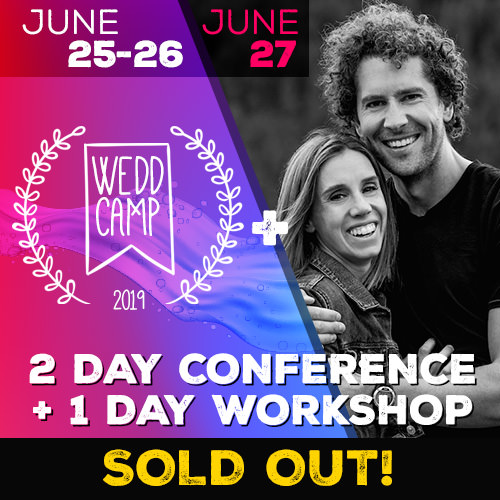 two mann workshop weddcamp 2019 sold out