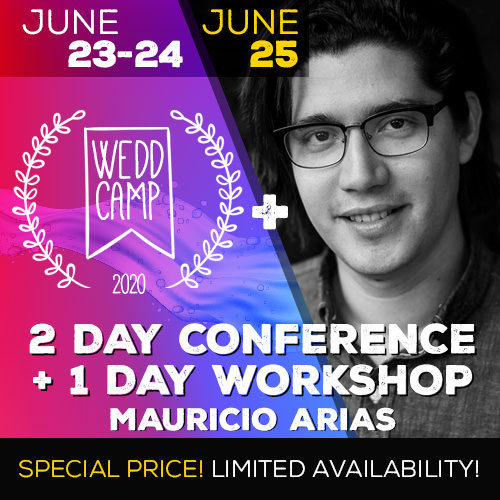 Workshop Mauricio Arias and WEDDCAMP Conference 2020