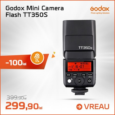 Godox Mini Camera Flash TT350S
