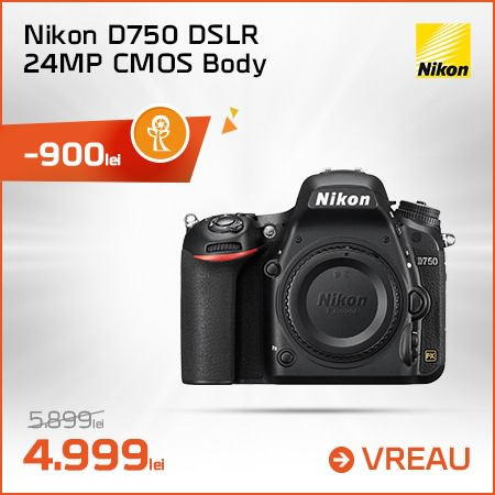 Nikon D750 DSLR 24MP CMOS Body
